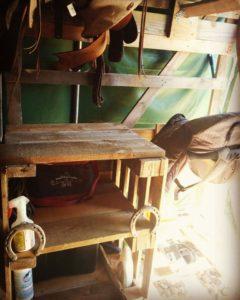 Meuble de sellerie chevaux