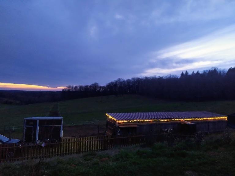 soirée d'hiver perig'horses
